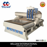 Multi-Spindle CNC 목제 조각 대패 기계 CNC 대패 (VCT-1325ASC3)