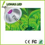 Lohas Dimmable DEL élèvent l'ampoule 90-130V 180-240V E27 12W PAR30 élèvent la lampe pour la pépinière d'usine de culture hydroponique
