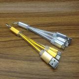 USB-кабель Micro+ 8 Контакт нейлоновые экранирующая оплетка кабеля зарядки через USB
