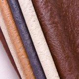 Кожа PU страуса высокого качества для мешков мебели