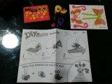 Papierspielwaren der Kind-DIY für Tier-Basisrecheneinheit und Frosch