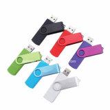 Stok van de Telefoon USB van Thumbdrive van het Geheugen USB van de Aandrijving van de Flits van de wartel USB de Plastic