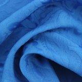 Tessuto di modo della ratiera del fiore dell'azzurro reale