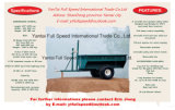 off-Road ATV Utility Timber Trailer card; Farm Garden Tools