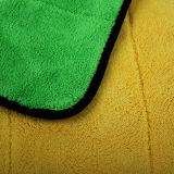 Супер толщиное полотенце чистки автомобиля Microfiber плюша