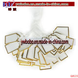 De Markeringen die van het Kaartje van de Prijs van het Etiket van het kledingstuk het Naamplaatje kleden van de Sticker van de Gift (G8116)