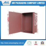 Estetiche impaccanti di carta della gamma di colori dell'ombretto del contenitore di libro della copertura superiore che impaccano all'ingrosso