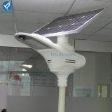 40W 하나에서 태양 강화된 LED 가로등 전부