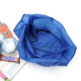 Poliéster Regalos promocionales reutilizables Bolso de compras plegable impreso de encargo del ultramarinos