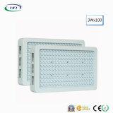 고품질 200*3W LED는 실내 플랜트를 위해 가볍게 증가한다
