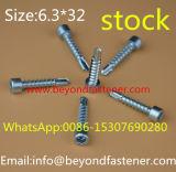 Tornillos de tornillo de la pista de la cacerola DIN7985