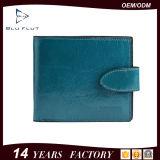 مصنع صنع وفقا لطلب الزّبون أصليّة [رترو] تصميم جلد مال مشبك رجال محفظة
