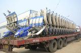 4 und 6 Reihen-Dieselmotor-gehender Reis-Umpflanzer