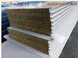 Панель стены перегородки панели сандвича изоляции Rockwool стеклянной ваты