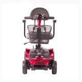 Самокат колес сейфа 4 электрический для неработающего и старые люди с удобным местом (MS-012)