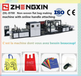 値を付けさせる機械を環境の友好的な非編まれたギフト袋(ZXL-D700)
