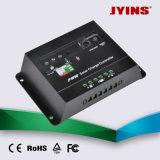 / 15A / 20A regulador 12V / 24V / 48V 10A / 30A automática PWM de carga solar