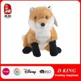 에뮬레이션 견면 벨벳 박제 동물 Fox 장난감