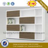 Portas de vidro de alta qualidade Escritório Madeira Estante China Gabinete (HX-4FL003)