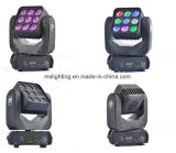 Nueva luz principal móvil vendedora caliente de 9*10W RGBW 4in1 LED