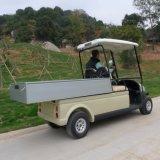 Электрический автомобиль внедорожника с грузом для сбывания