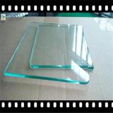 vidrio de flotador ultra claro de 3m m para el edificio