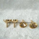 Petit entonnoir de vente chaud Af-12 en métal en aluminium réutilisable d'or