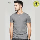 Concevoir le plus tard les chemises en fonction du client pour le T-shirt rond de chemise de circuit de collet d'illustrations des hommes