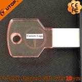 Привод пер USB ключа выдвиженческих подарков дела кристаллический (YT-3213-10)