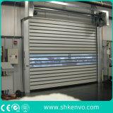 Portello veloce veloce ad alta velocità dell'otturatore del rullo isolato metallo automatico della lega di alluminio per la stanza industriale del congelatore