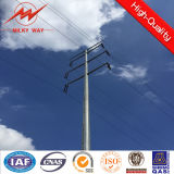 69kv 12m heißes BAD galvanisierter Stahlpole für elektrischen Strom