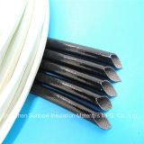 Manicotto Braided dell'isolamento di collegare 4.0kv del cavo di silicone della vetroresina rivestita ad alta tensione della gomma