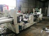 高速浮彫りになるおよび印刷のナプキンのペーパー作成機械