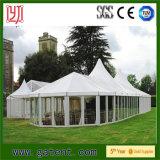 Brancos Exterior de alta qualidade tenda para festas de casamento e eventos ao ar livre
