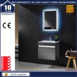 Cabina de cuarto de baño negra modificada para requisitos particulares de la melamina del MDF de la laca con las piernas