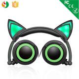 Leuke Ontwerp van de Manier van China telegrafeerde het Nieuwe de Stereo Opzichtige Hoofdtelefoon van de Kat