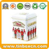 Contenitore esagonale di stagno del tè di imballaggio per alimenti, stagni del carrello di tè