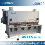 QC11k режущей машины деформации сдвига машины Guillotine машины со срезным болтом