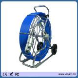 Сделайте 360 градусов водостотьким поверните робот камеры водоотводной трубы сточной трубы с 60m к кабелю стеклоткани 120m 9mm и камере передатчика 512Hz