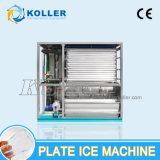 3 tonnes de la plaque de glace Maker Machine pour la transformation de fruits de mer