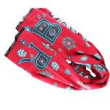 女性のためのカスタムウールそしてポリエステルによって混ぜられるスカーフ