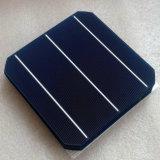 Pila solare monocristallina di 125 X125mm una mono per il comitato solare