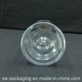 Caixa de cilindro de plástico transparente para venda quente