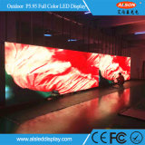 Schermo esterno del segno di colore completo P5.95 LED di HD per uso locativo