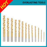 6542 bits de broca padrão da ferragem Ti-Revestida para plástico Drilling