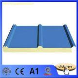"""Panneau """"sandwich"""" des matériaux de toiture de qualité EPS/PU"""