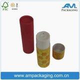 Cuadro de tubo de papel personalizado Rosa perfumada té de cilindro de embalaje caso
