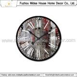 Décoration à la maison suspendue Craft Horloge murale en bois