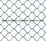 Caldo tuffato rete fissa provvisoria rivestita del PVC/galvanizzata costruzione di collegamento Chain