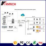 Система Pabx Kntech разрешения Knsp-08L видеоконференции системы системы оповещения